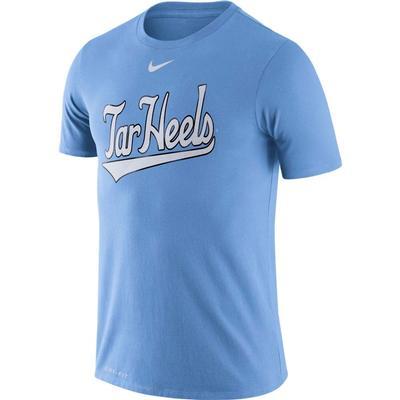 UNC Nike Dri-Fit Baseball Tee