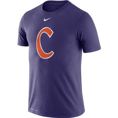 Clemson Nike Dri-FIT Baseball Logo Tee