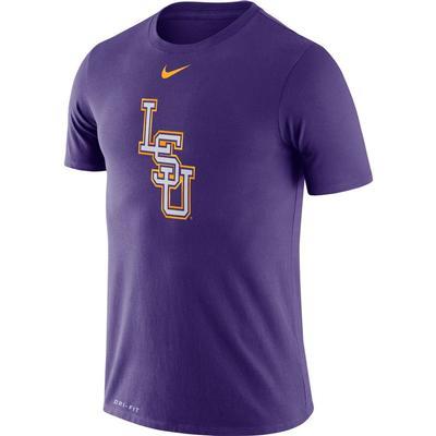 LSU Nike Dri-FIT Baseball Logo Tee