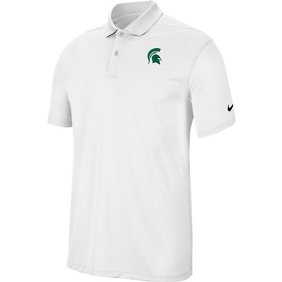 Michigan State Nike Golf Dry Victory Solid Polo WHITE