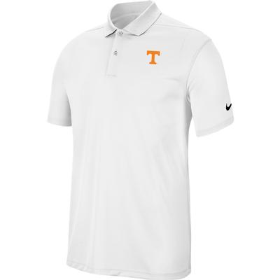Tennessee Nike Golf Dry Victory Solid Polo WHITE