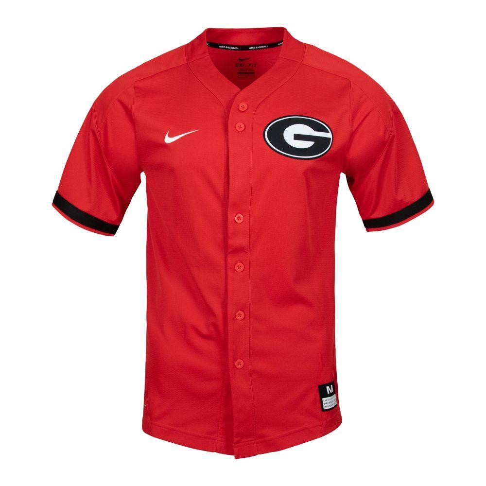 Georgia Nike Baseball Jersey