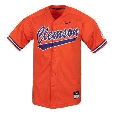 Clemson Nike Script Baseball Jersey