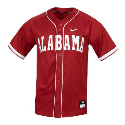 Alabama Nike Baseball Jersey