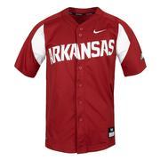 Arkansas Nike Baseball Jersey