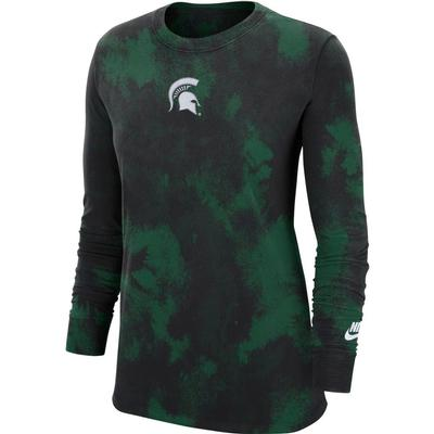 Michigan State Nike Women's Cotton Wash Tee