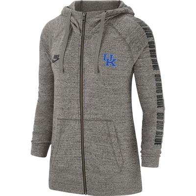 Kentucky Nike Women's Gym Vintage Full Zip