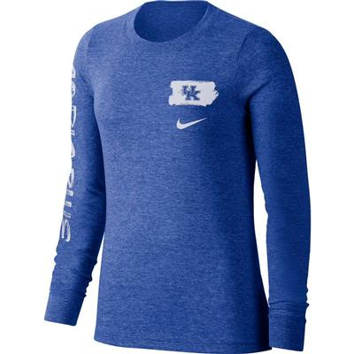 Kentucky Nike Women's Tri-Verb Tee