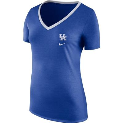 Kentucky Nike Women's Tri-blend V-neck Tee