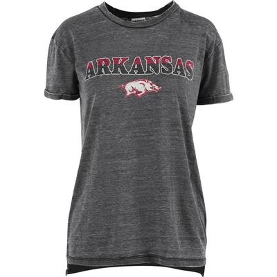 Arkansas Pressbox Women's Breakdown Vintage Wash Tee
