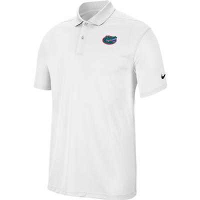 Florida Nike Golf Dry Victory Solid Polo WHITE