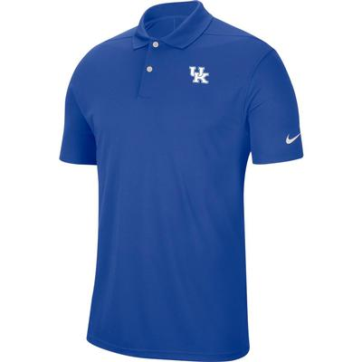 Kentucky Nike Golf Dry Victory Solid Polo ROYAL