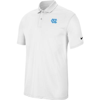 UNC Nike Golf Dry Victory Solid Polo WHITE