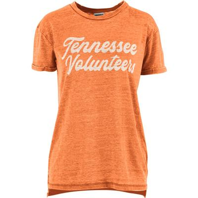 Tennessee Pressbox Women's Juniper Script Vintage Wash Tee