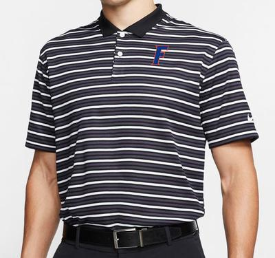 Florida Nike Golf Dry Victory Block F Logo Stripe Polo