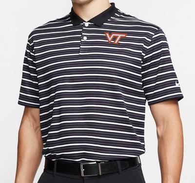 Virginia Tech Nike Golf Dry Victory Stripe Polo