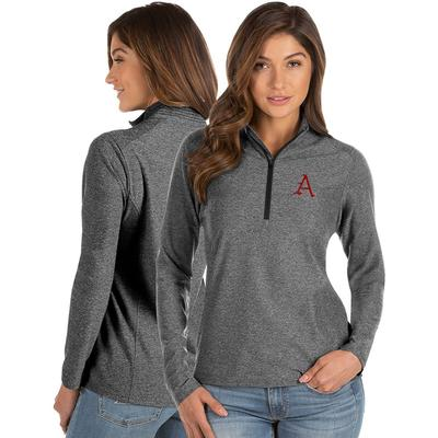 Arkansas Antigua Women's Spirit 1/4 Zip Pullover