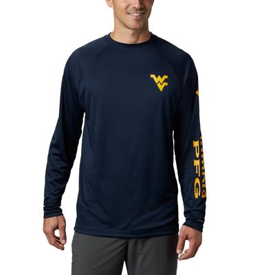 West Virginia Columbia Terminal Tackle Tee