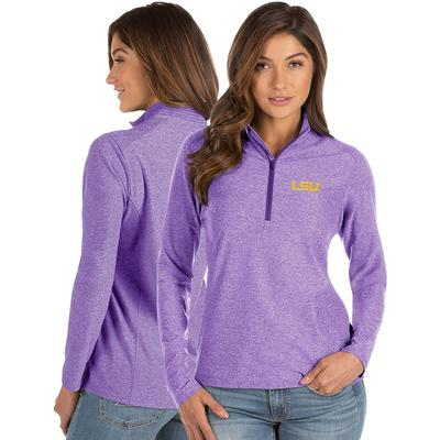 LSU Antigua Women's Spirit 1/4 Zip Pullover