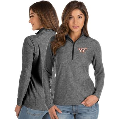 Virginia Tech Antigua Women's Spirit 1/4 Zip Pullover