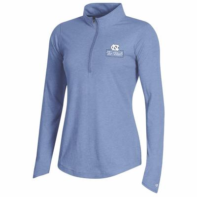 UNC Champion Women's Field Day Mock 1/4 Zip Pullover