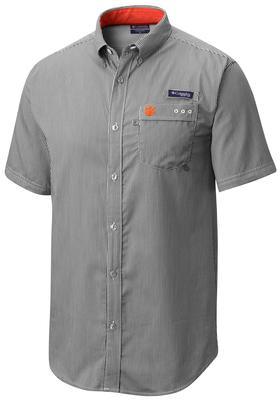 Clemson Columbia Harborside Gingham Shirt