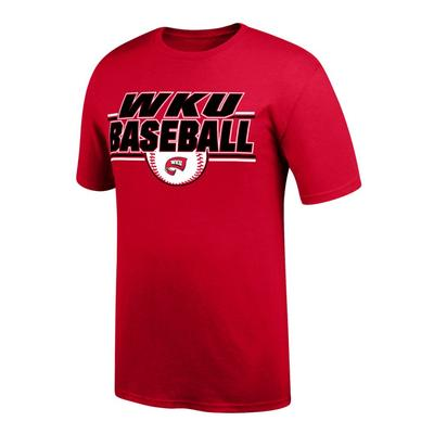 Western Kentucky Baseball Double Bar Tee