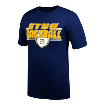 ETSU Baseball Double Bar Tee