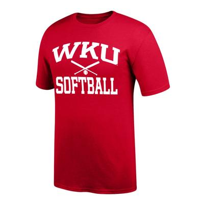 Western Kentucky Softball Basic Tee