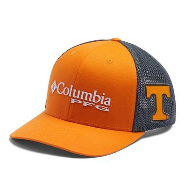 Tennessee Columbia PFG Mesh Snap Back Hat