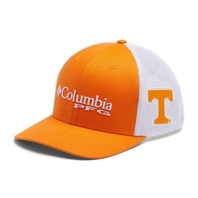 Tennessee Columbia PFG Mesh Snap Back Hat