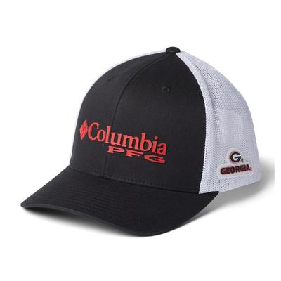 Georgia Columbia PFG Mesh Snap Back Hat