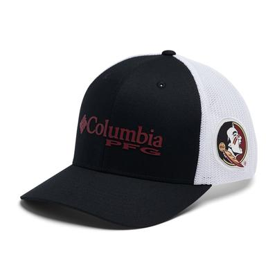 Florida State Columbia PFG Mesh Snap Back Hat