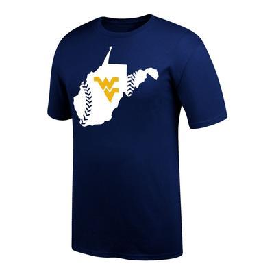 West Virginia Baseball In State Tee