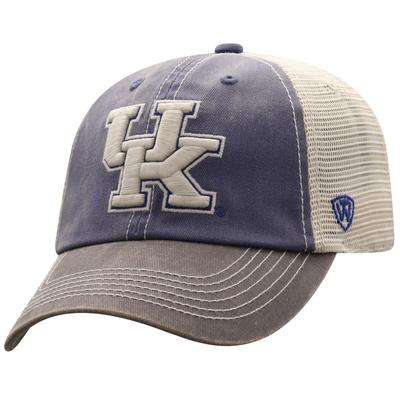 Kentucky Men's Washed Cotton Trucker Hat