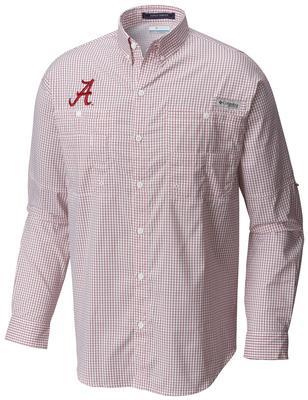 Alabama Columbia Super Tamiami Long Sleeve Shirt