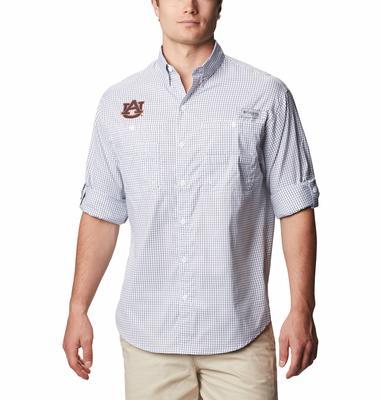 Auburn Columbia Super Tamiami Long Sleeve Shirt