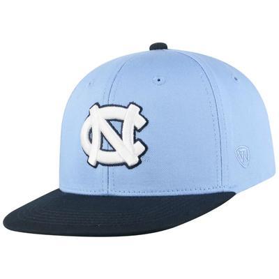 UNC Youth Maverick Flat Bill Hat