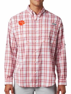 Clemson Columbia Super Tamiami Long Sleeve Shirt