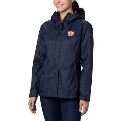 Auburn Columbia Women's Arcadia Rain Jacket