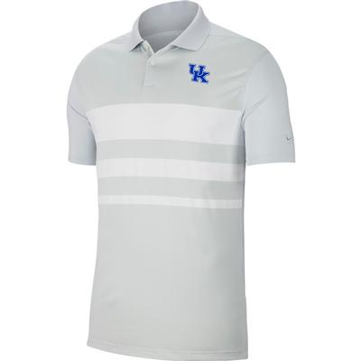Kentucky Nike Golf Dry Vapor Stripe Polo