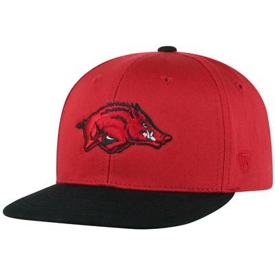 Arkansas Youth Maverick Flat Bill Hat