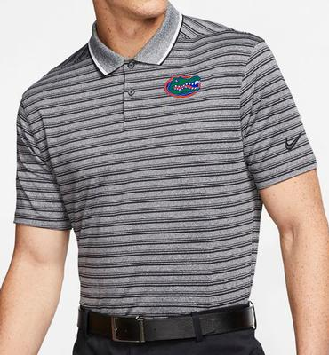 Florida Nike Golf Dry Vapor Control Stripe Polo