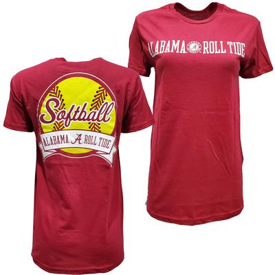 Alabama Softball Giant Logo Tee