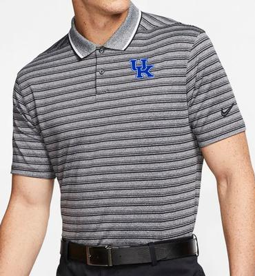 Kentucky Nike Golf Dry Vapor Control Stripe Polo