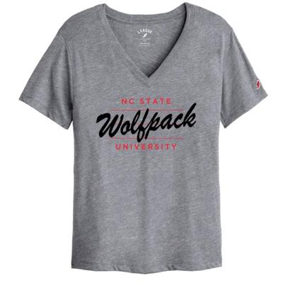 NC State League Intramural Boyfriend V Neck