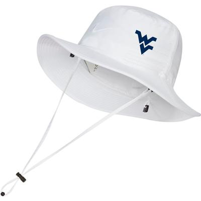 West Virginia Nike Golf Dri-FIT Bucket Hat - Side Logo