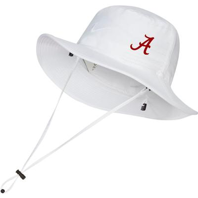 Alabama Nike Golf Dri-FIT Bucket Hat - Side Team Logo