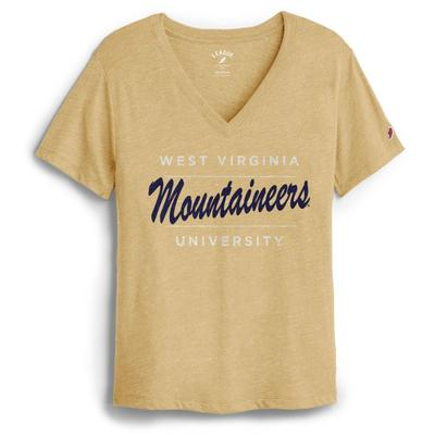 West Virginia League Intramural Boyfriend V Neck