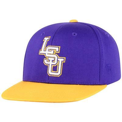 LSU Youth Maverick Flat Bill Hat